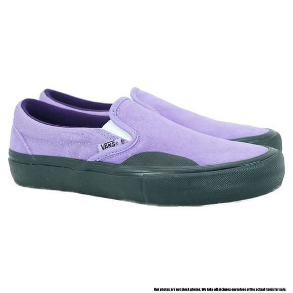 reservorio arcilla Viento  Vans Shoes | Vans Slipon Pro Lizzie Armanto Purple Men Shoe | Poshmark